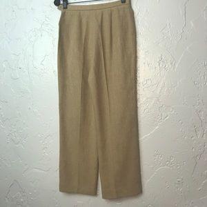 MaxMara Pants & Jumpsuits - MaxMara Linen High Rise Career Trouser